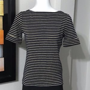 Ralph Lauren Black & Gold Shirt Size PM
